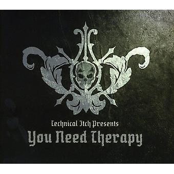 Technical Itch - You Need Therapy [CD] USA import