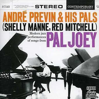 Andre Previn & Pals - importation USA Pal Joey [CD]