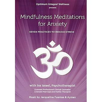 Mindfulness Meditations for Anxiety: Seven Practic [DVD] USA import