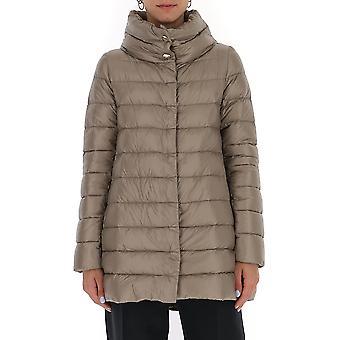 Herno Pi0505dic120172600 Dames's Beige Nylon Down Jacket