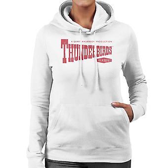 Thunderbirds Classic Logo Women's Hooded Sweatshirt