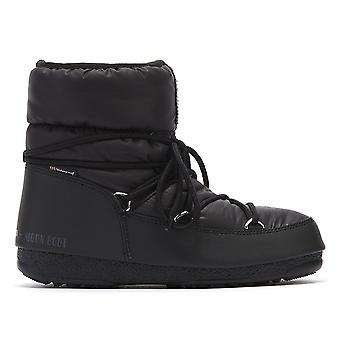 Moon Boot Nylon Low 2 Womens Black Boots
