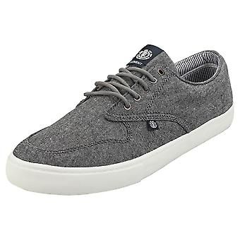 Element Topaz C3 Mens Skate Trainers in Chambray