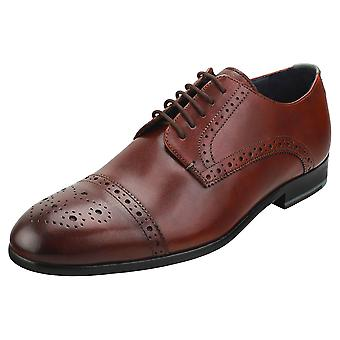 Ted Baker Brooyh Mens Brogue Shoes in Tan