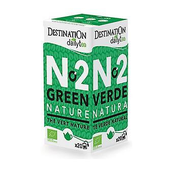 Plain Green Tea- Ceylon 20 units of 2g