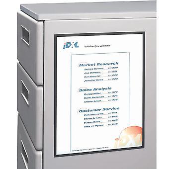 37911BNDL3PK, Cuidadores de cubículos magnéticos, 8 1/2 x 11, 2/PK (conjunto de 3 PK)