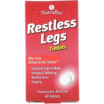 NatraBio, Restless Legs, 60 Tablets