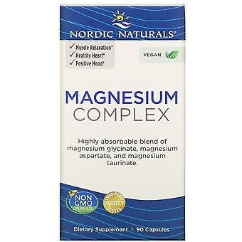 Nordic Naturals, Complexe de magnésium, 90 capsules