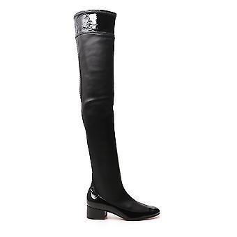 Loewe L815s04x021185 Women's Black Leather Boots
