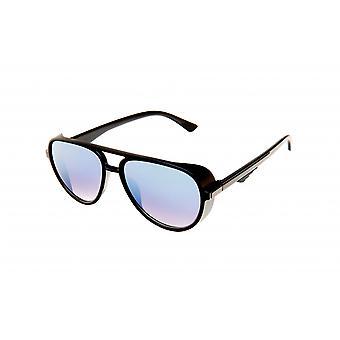 Sonnenbrille Unisex  schwarz/silber (20-101)