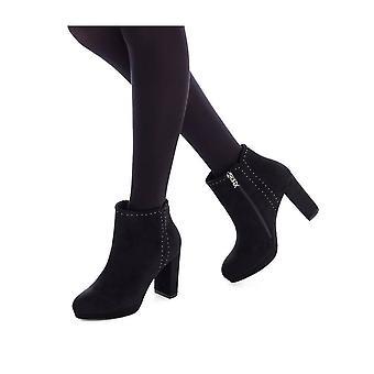 Xti - Shoes - Ankle boots - 35099_BLACK - Ladies - Schwartz - EU 38