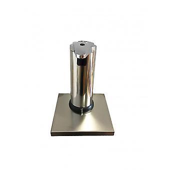 Dispenser Erogatore Sapone/gel Con Fotocellula Sensore In Acciaio Inox Con Mensola