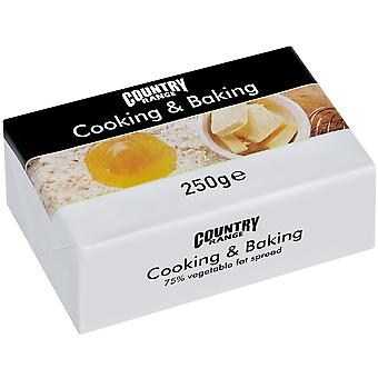 Country Range Cooking and Baking 75% Veg Fat Spread