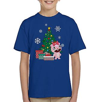 Giggles Around The Christmas Tree Happy Tree Friends Kid's T-Shirt