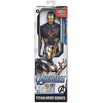Avengers Titan Hero Black Gold Iron Man Actie Figuur Kids Speelgoed
