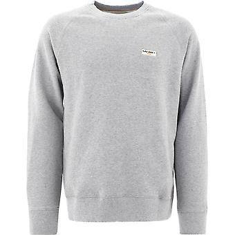 Nudie Jeans 150380b04 Heren's Grey Cotton Sweatshirt