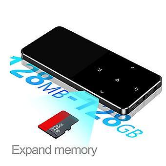 مشغل موسيقى بلوتوث MP3 مع مكبر صوت عال، المدمج في 16gb Hifi المحمولة
