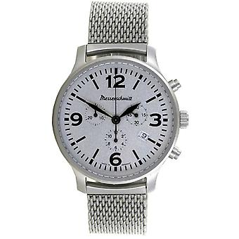 Aristo Men's Messerschmitt Watch Aviator Chronograph ME-3H203M Stainless Steel