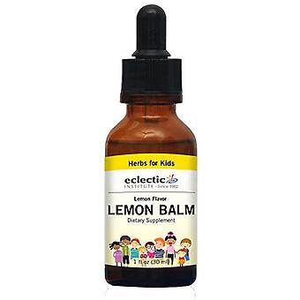 Eclectic Institute Inc Kid's Lemon Balm, Lemon Flavor 1 Oz Alcohol free
