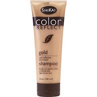 Shikai Color Reflect Styling Shampoo, Gold 8 OZ