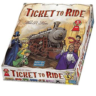 Ticket To Ride Strategy Board Game By Alan R. Moon Original