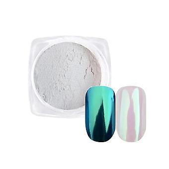 Gradient Žiariace laky na nechty - Prach Magic Mirror Effect Prášok Aurora Nail Art