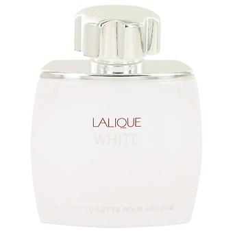 Lalique White Eau De Toilette Spray (Tester) por Lalique 2,5 oz Eau De Toilette Spray