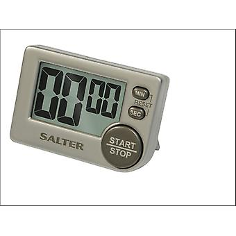 Salter Big Button Electronic Timer Silver 397SVXR