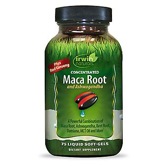 Irwin Naturals Concentrated Maca Root and Ashwagandha (75 Softgel)