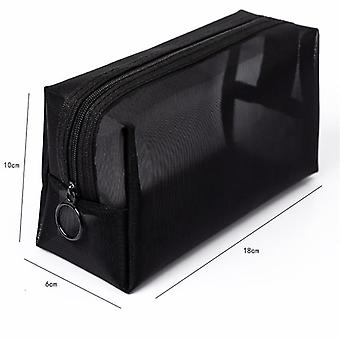 Femmes Transparent Cosmetic Bag Travel, Make Up Organizer Storage Pouch Beauty