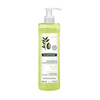 Klorane Shower Gel Eau de Yuzu 400 ml of gel