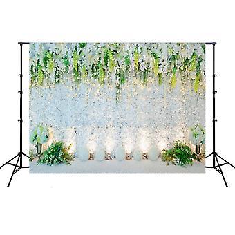 2.1m x 1.5m Flower Wall Simulation Wedding Theme Party Arrangement Photography Background Cloth (W027)