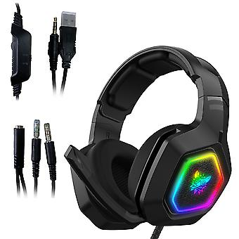 3,5 mm:n PC-pelikuulokkeet Ps4 Xbox Surround Stereolle