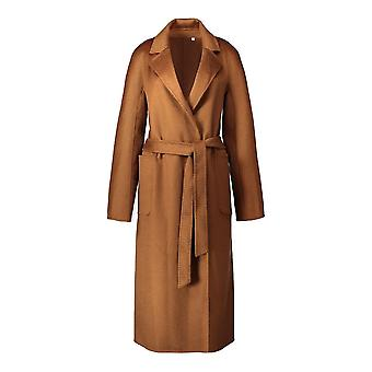 الكلاسيكية مزدوجة الوجه الكشمير Woolen معطف الشتاء