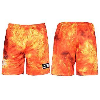 Puma Alife DryCell Mens Fotbal Jersey Pantaloni scurți Grenadine 570460 07 R9D