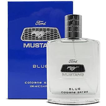 Mustang Blue Eau de Cologne Spray for Men 100 ml