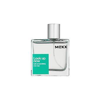 Mexx Look Up Now : Life Is Surprising for Him Eau de Toilette Spray for Men 50 ml
