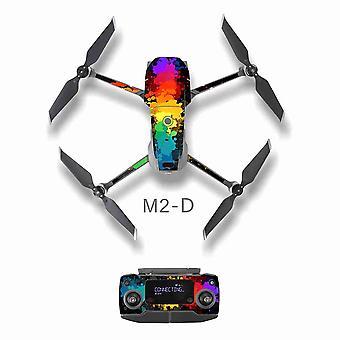 Scratchproof Body Full Drone skin Kit For DJI Mavic 2 Pro