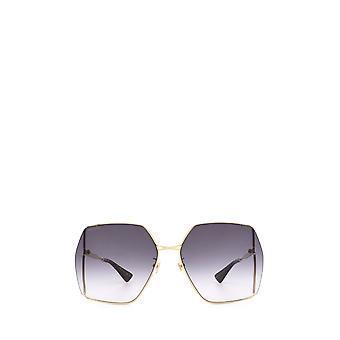 Gucci GG0817S gold female sunglasses