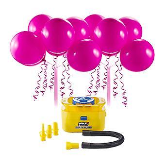 Zuru bunch o balloons portable electric air pump 16 self sealing pink balloons