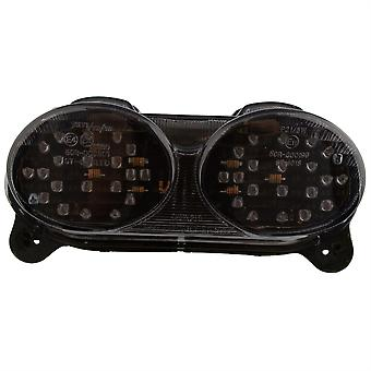 Bike It LED Rear Tail Light With Cool Grey Lens - #K114