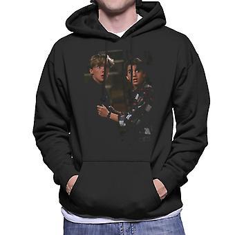 Weird Science Wyatt And Gary Men's Hooded Sweatshirt