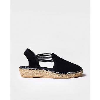 NURIA - Espadrille for woman by Toni Pons made of suede.