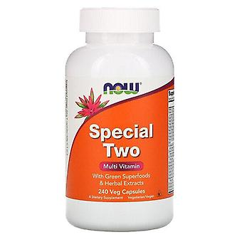 Maintenant aliments, special two, multi vitamin, 240 capsules de légumes