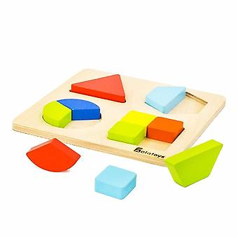 "Alatoys Wooden  Puzzles ""Fractions"""