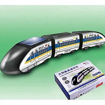 Creative Diy Solar Power Train Solar Toy Educational Gadget