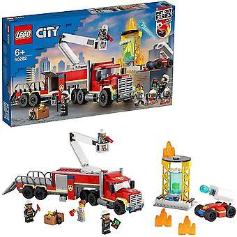 LEGO 60282 City Fire Command Unit Building Set, Fire Engine Toy