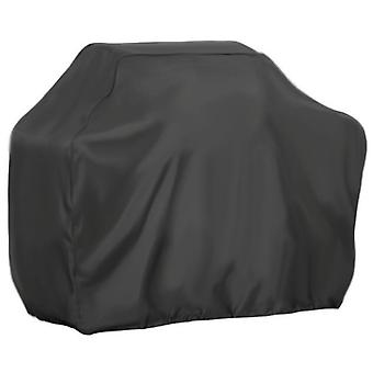 Black Pu Bbq Cover Outdoor Dust Cover Bbq Cover