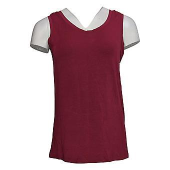 عناق دودس المرأة أعلى Softwear عكسها سكوب طاقم دبابة الأحمر A293078