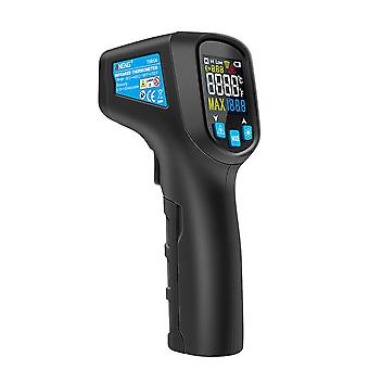 For cooking infrared thermometer adjustable emissivity loud alarm abs lcd digital baking backlight bbq meat home non contact